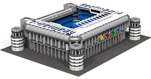 Details about CUSTOM LEGO BUILDING: Santiago Bernabeu Stadium (football) in  Madrid (Spain)