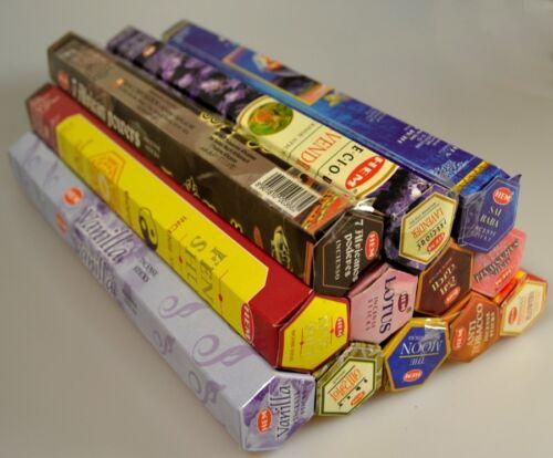 HEM Räucherstäbchen 12 Pack a 20 Stück FREIE AUSWAHL oder als Mix Paket