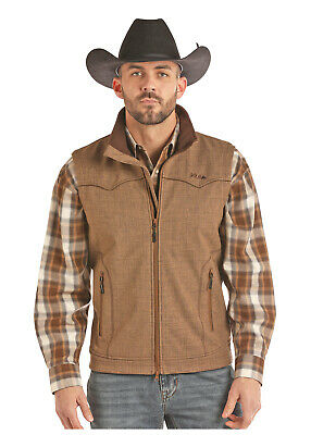 SALE!! Cowboy Hardware Men/'s Heather Black Grey Woodsman Jacket 191090-014