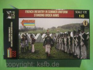 NEU-1-72-Strelets-222-Napoleon-Frankreich-Soldaten-angetreten-Sommer-Uniform