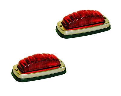 2 X MONARK Positionsleuchte RETRO Leuchte für OLDTIMER SCHLEPPER POSITION LAMP