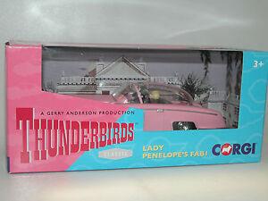 CORGI-CC00604-Gerry-Anderson-Thunderbirds-Lady-Penelope-039-s-FAB-1-mit-Figuren-neu