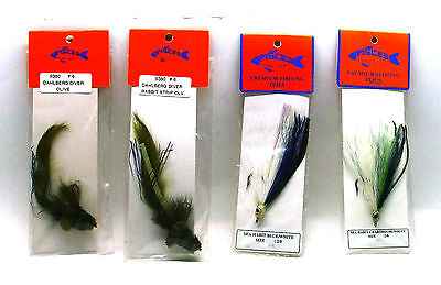 6QTY STIMULATOR ROYAL Fishing Flies size 14