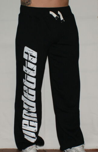 Per vendetta mascheraq Sports Jogging Pantaloni HURRICANE NERO Fight Sport rispetto