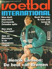 V.I. 1994  nr. 45 - HENRIK LARSSON/VAN BOMMEL/TSJECHIE/HANS KRAAY SR. + JR.