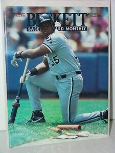 MLB-Beckett-January-1994-Issue-106-Frank-Thomas-Chicago-White-Sox-MINT