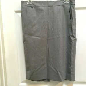 BCBG-Maxazria-Pencil-Skirt-size-4-Joey-Gray-Lined-Career