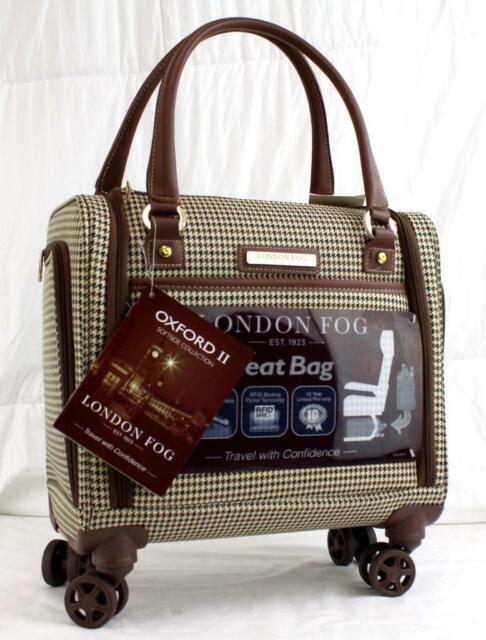 London Fog Oxford Hyperlite 25 Lightweight Spinner Suitcase Plaid 9714 For Sale Online Ebay