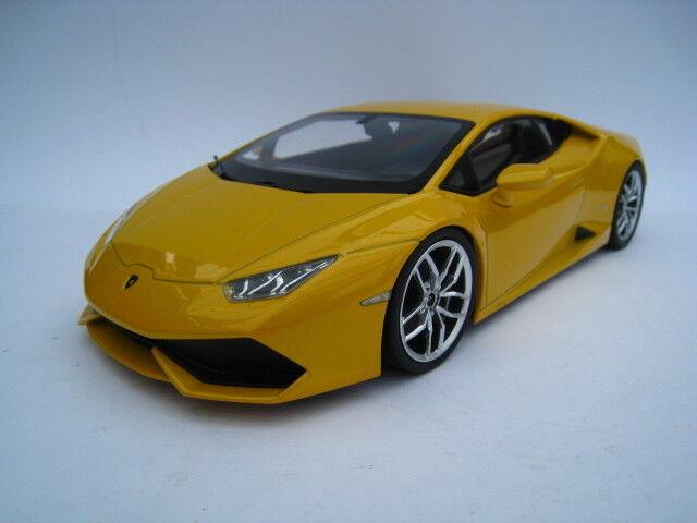 Lamborghini Huracan lp610-4 Jaune MET. Kyosho échelle 1 18 neuf dans sa boîte NEUF