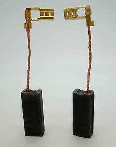 CARBON BRUSHES for METABO HAMMER KHE 75 MHE 65 DW543 DW545 BH46E SH50E DW10