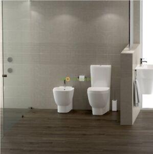 Italia Ceramiche Arzano Na.Wc Water Bidet Sedile Sanitari A Pavimento Serie One Rak Ceramica Ebay