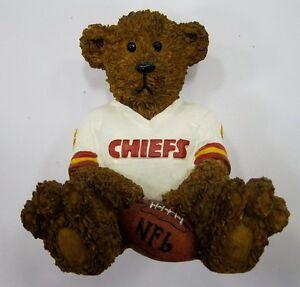 Kansas-City-Chiefs-NFL-Football-Ceramic-Mini-Teddy-Bear-Figurine-by-Elby-Gifts