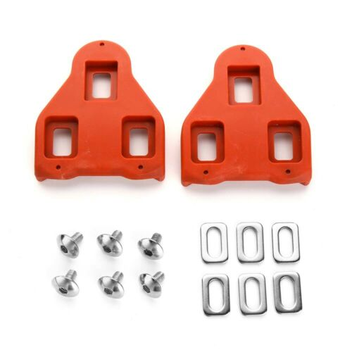 Pedals Cycle Cleats 9 Degree Float Road Bike Cleats Compatible with Look Delta