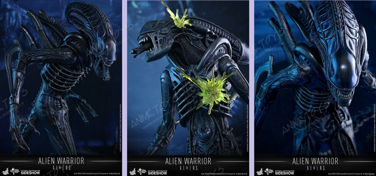 Hot Toys Aliens-Alien Warrior Movie Masterpiece