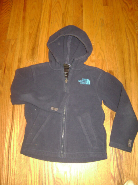 0cbe6df15 The North Face Boys Denali Fleece Jacket Snorkel Blue Size XS 6