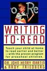 Writing to Read by John Henry Martin, Andy Friedberg (Paperback / softback, 1989)