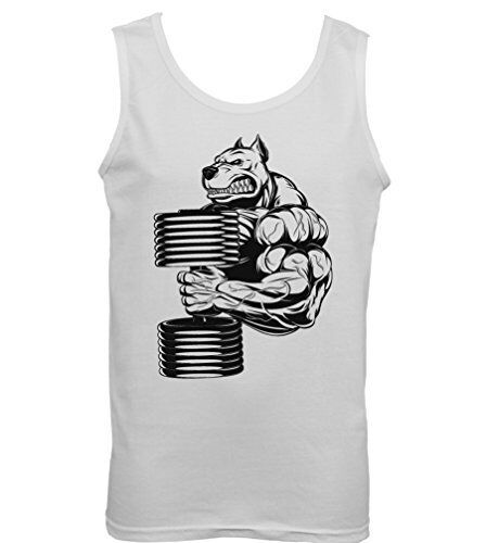 Mens Vest MMA Weightlifting Training Workout Bulldog Gym