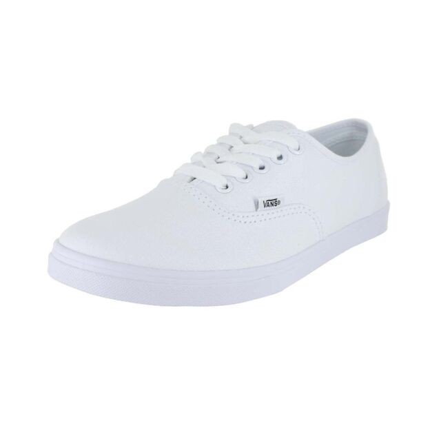 7a2f9aabfb VANS Authentic Lo Pro Vn000f7bqlz White Canvas Shoes Medium (b M ...