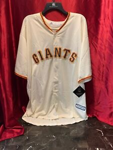premium selection ffcf0 26c3f Details about Genuine Majestic 3XL San Francisco Giants BRANDON CRAWFORD  COOL BASE JERSEY