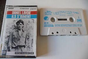 DANIEL-LAVOIE-K7-AUDIO-TAPE-CASSETTE-ILS-S-039-AIMENT