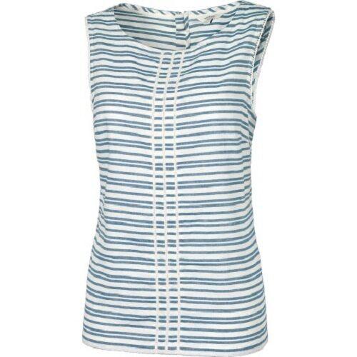 Ivory BNWT Eden Stripe Cami Fat Face Women/'s 55/% Linen