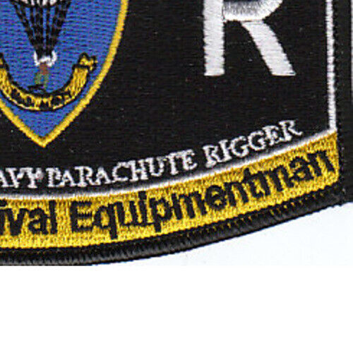 PR Aviation Rating Aircrew Survival Equipment Parachute Rigger Patch