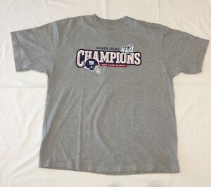 fc85c74e9 Image is loading Reebok-NEW-YORK-giants-XLII-Super-Bowl-Champions-