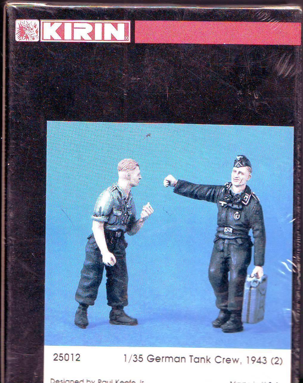 KIRIN KIRIN KIRIN 1/35 -GERMAN TANK CREW 1943 d5621b