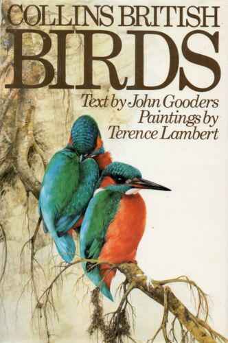 1 of 1 - Collins British Birds Hardcover book by John Gooders Paintings by T Lambert