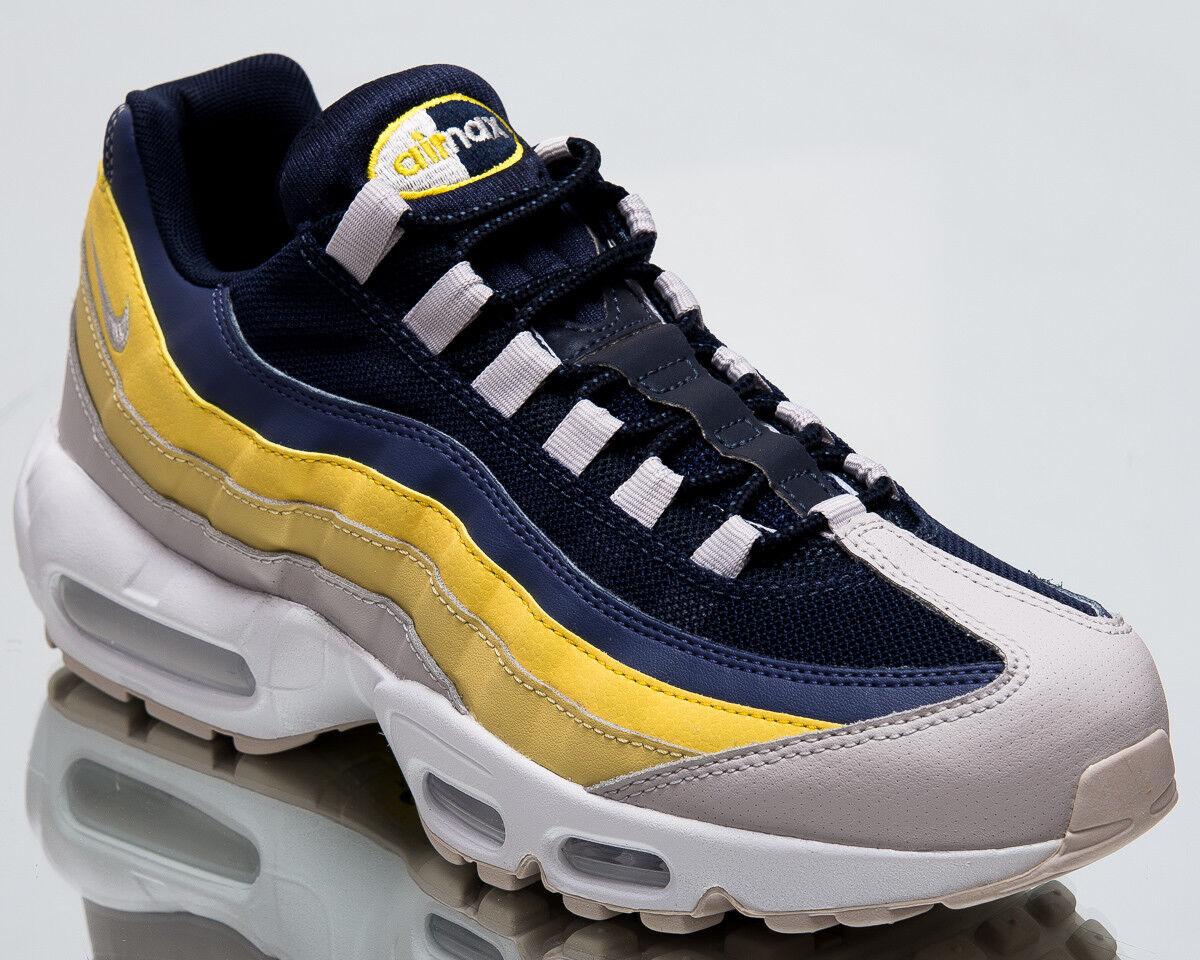 2e91a73b8c Nike Air Max 95 Essential Lemon Wash Men New shoes Mens Grey Sneakers 749766 -107