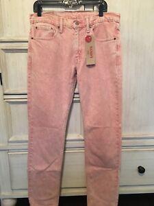 Levis 33w Stretch Mens Rose Acid X Jeans Slim Taille 32l 511 Wash 1qrzU1