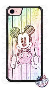 61e68828021 La foto se está cargando Walt-Disney-Mickey-Mouse-Personaje-Funda -de-telefono-