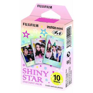 Fujifilm-Instax-Mini-10-Sheets-Shiny-Star-For-Fuji-7s-8-9-70-Instant-Film-Camera