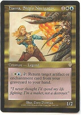 Gold Judge Mtg Magic Rare 1x x1 Ship/'s Navigator 1 PROMO FOIL Hanna