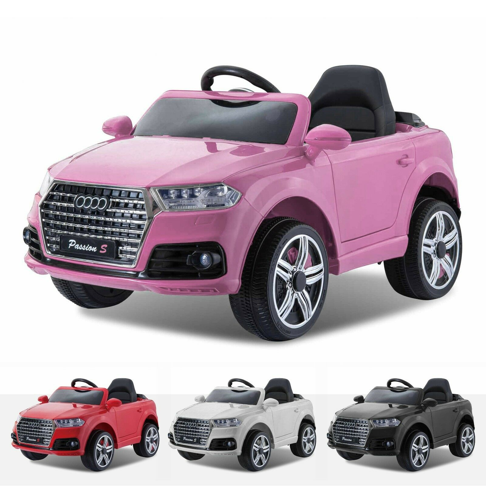 Kids Audi Q7 S Line Style 12V Electric Motor Battery Operated Ride On Car
