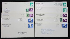 US-Cover-Stationery-Eagle-10-Piece-America-Letters-Stationery-Lot-4760