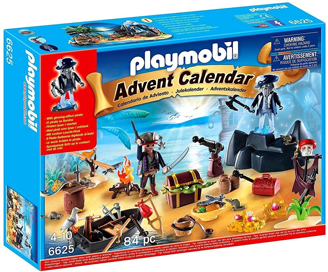 Playmobil Pirates Advent Calendar Pirate Treasure  Isle Set  6625  la migliore selezione di