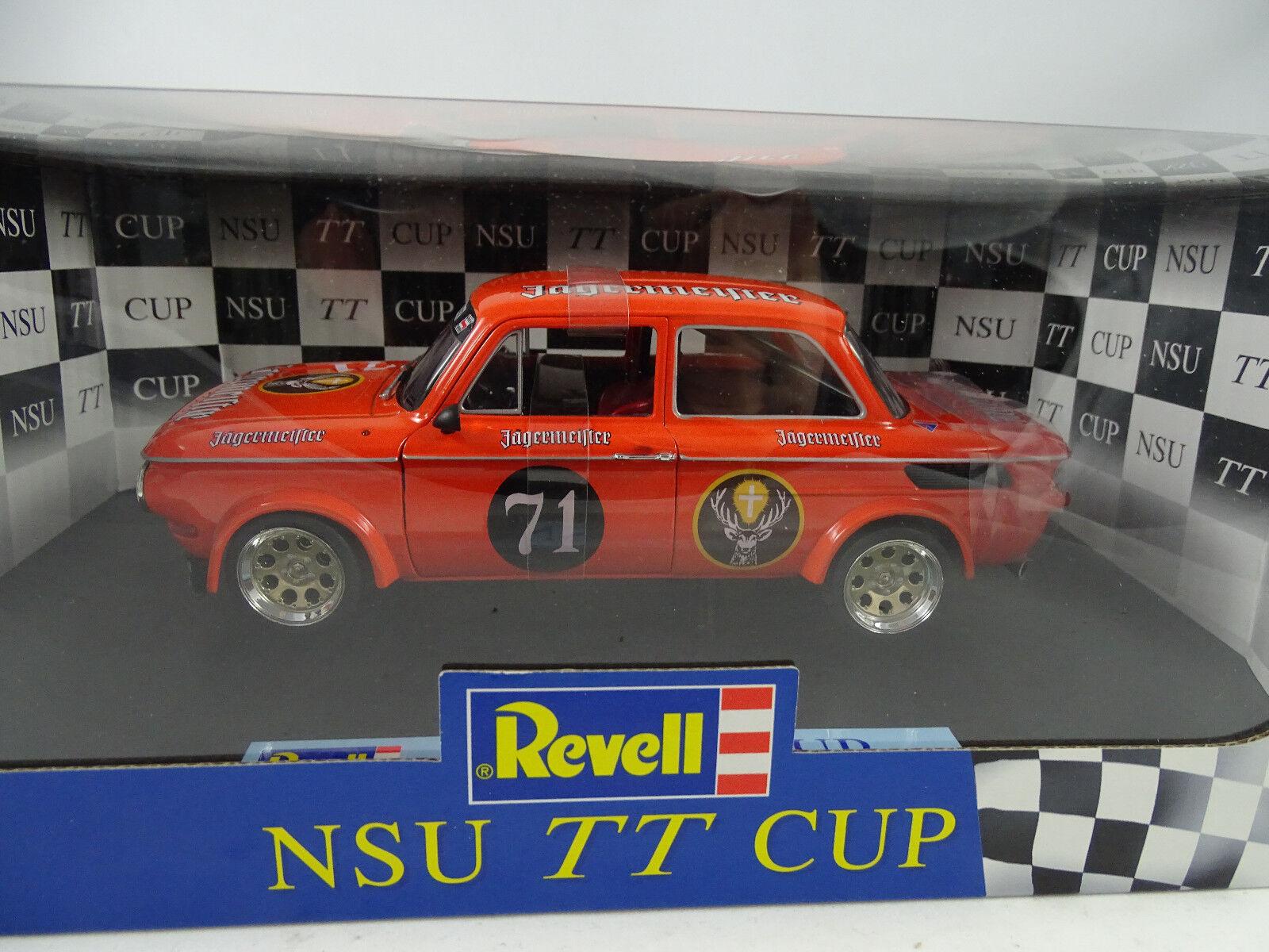 1 18 Revell NSU TT Cup racing w. montaña maestro-rareza nuevo §