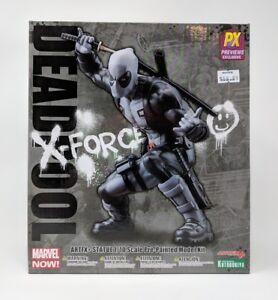 Kotobukiya-Marvel-NOW-Deadpool-X-Force-ARTFX-Statue-PX-Exclusive-New-In-Box