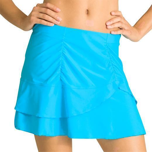 ATHLETA Sunkiss Skirt Swim Skirt, NWOT, bluee,  Size XS, Adorable