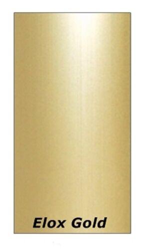 10 extra flach /Übergangsprofil C 05 Abschlussprofil 38 x 2 mm-selbstklebend - Alu-eloxiert: Natur-silber