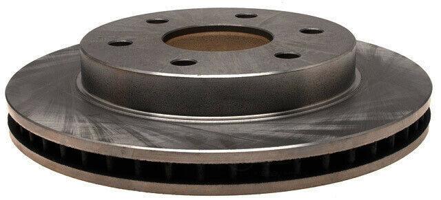 Disc Brake Rotor-Non-Coated Front ACDelco Advantage 18A81053A