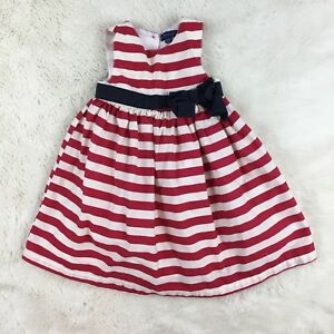 PUMPKIN-PATCH-Baby-Girls-4th-of-July-Sleeveless-Party-Dress-Size-12-18-Months
