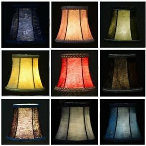 e127aa9829f Small Lampshade Crushed Velvet Lamp Drum Shade Table Ceiling Light ...