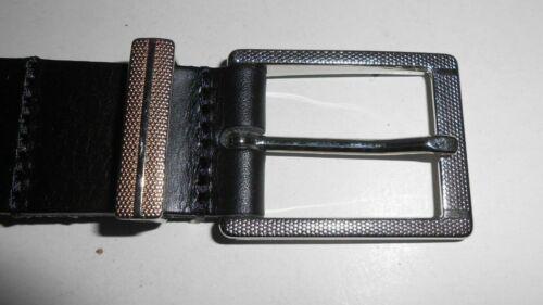 8 Tailles Réel masquer cuir homme ceinture noire-Largeur 30 mm HNBK 1