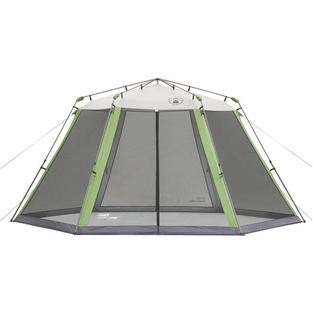 Coleman 15x13 Instant Canopy Screen House Picnic Camping ...