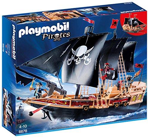 PLAYMOBIL Pirate Raiders' Ship, Gift For Boys e Girls   prima qualità ai consumatori