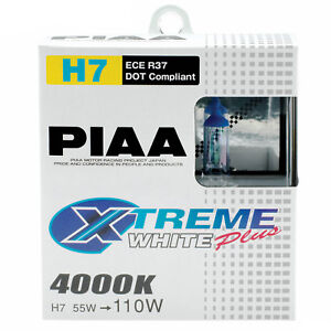 PIAA-Xtreme-White-Plus-H7-Car-Replacement-Headlights-Bulbs-Twin-Pack-HE309