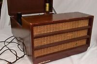 Antique Vintage VOICE OF MUSIC Tube Record Player WORKING