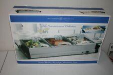 Sensio 13372 Bella Cucina Double Buffet Server and Warming Tray